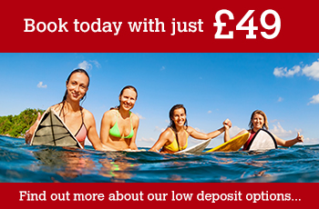 Click here for information about our low deposits