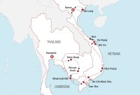 Cambodia & Vietnam Discovery Map