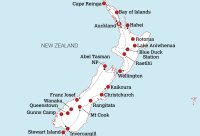 New Zealand Travel Pass Map